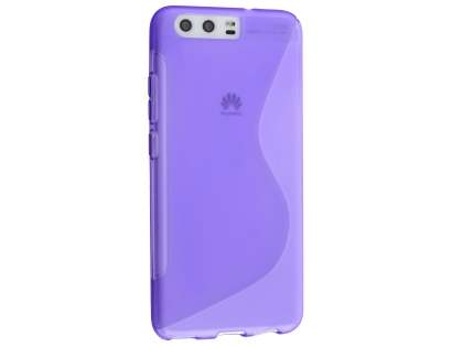 Wave Case for Huawei P10 - Frosted Purple/Purple Soft Cover