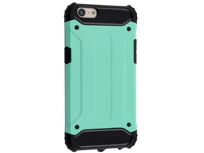 Impact Case for Oppo A57 - Mint/Black Impact Case
