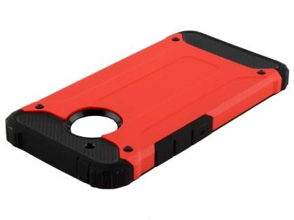 Impact Case for Motorola Moto G5 - Scarlet/Black Impact Case