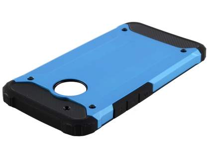 Impact Case for Motorola Moto G5 Plus - Blue/Black Impact Case