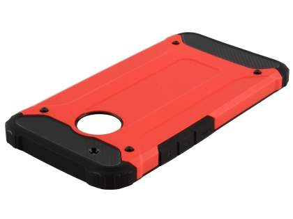 Impact Case for Motorola Moto G5 Plus - Scarlet/Black Impact Case