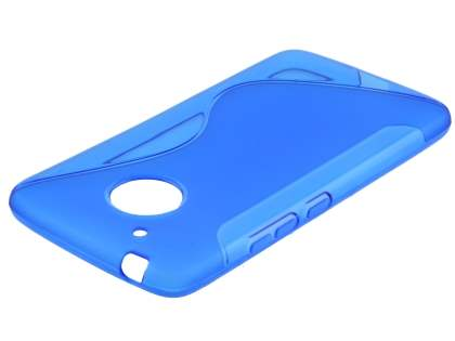 Wave Case for Motorola Moto G5 - Frosted Blue/Blue Soft Cover