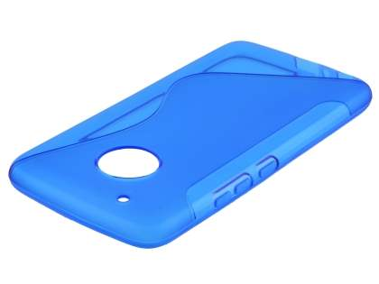 Wave Case for Motorola Moto G5 Plus - Frosted Blue/Blue Soft Cover