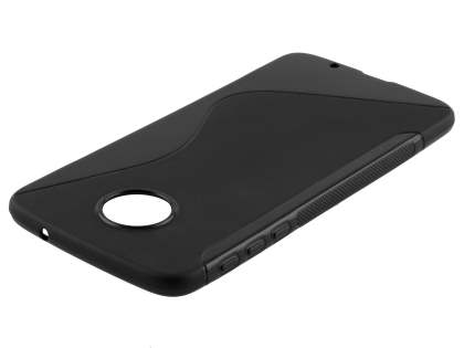 Wave Case for Motorola Moto Z - Frosted Black/Black Soft Cover
