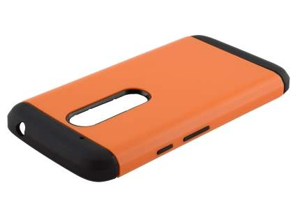 Impact Case for Motorola Moto G4 Play - Orange/Black Impact Case