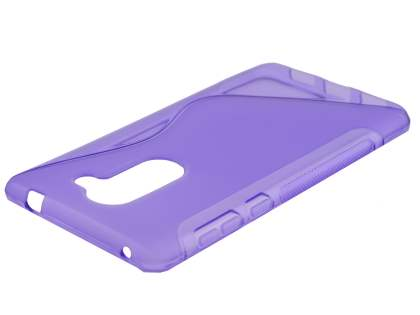 Wave Case for Huawei GR5 2017 - Frosted Purple/Purple Soft Cover