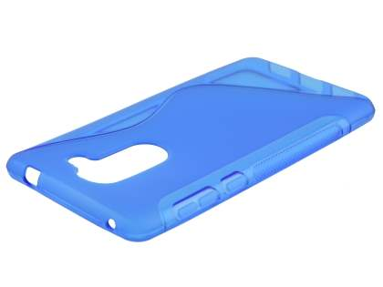 Wave Case for Huawei GR5 2017 - Frosted Blue/Blue Soft Cover