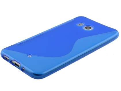 Wave Case for HTC U11 - Frosted Blue/Blue