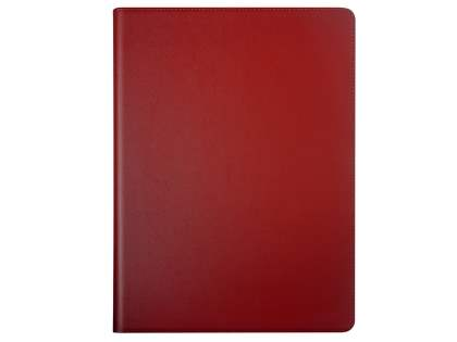 Premium Genuine Leather Portfolio Case with Stand for iPad Pro 10.5 - Red