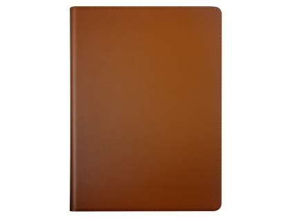 Premium Genuine Leather Portfolio Case with Stand for iPad Pro 10.5 - Brown