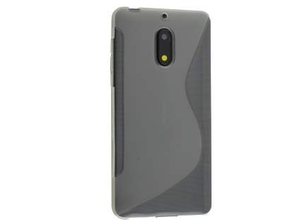Wave Case for Nokia 6 - Frosted Clear/Clear Soft Cover