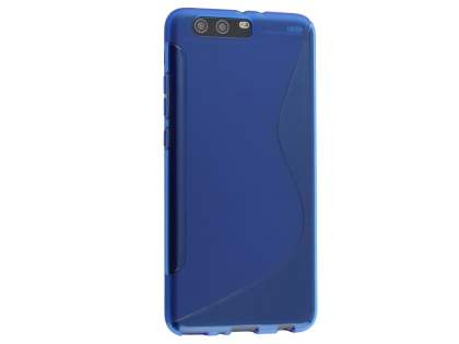 Wave Case for Huawei P10 Plus - Frosted Blue/Blue Soft Cover