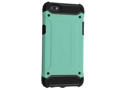 Impact Case for Oppo A77 - Mint/Black Impact Case