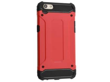 Impact Case for Oppo R9s Plus - Red/Black Impact Case