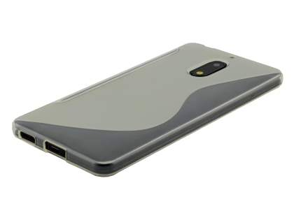 Wave Case for Nokia 6 - Frosted Clear/Clear