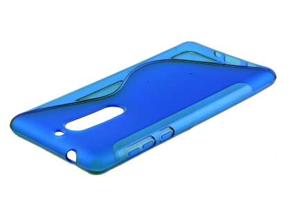 Wave Case for Nokia 5 - Frosted Blue/Blue Soft Cover