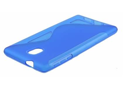 Wave Case for Nokia 3 - Frosted Blue/Blue Soft Cover