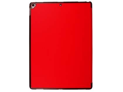 Premium Slim Synthetic Leather Flip Case with Stand for iPad Pro 12.9 (2017) - Red
