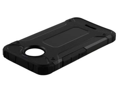 Impact Case for Motorola Moto C - Classic Black Impact Case