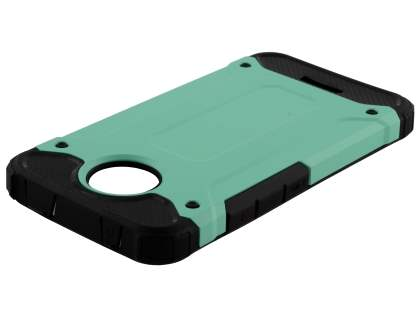 Impact Case for Motorola Moto C - Mint/Black Impact Case