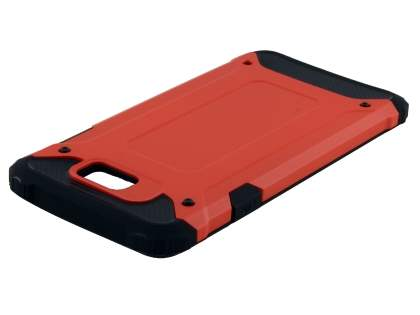 Impact Case for Samsung Galexy J7 Prime - Scarlet Red/Black Impact Case