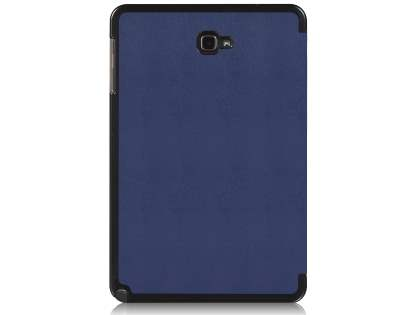 Premium Slim Synthetic Leather Flip Case with Stand for Samsung Galaxy Tab A 10.1 with S Pen - Navy Leather Flip Case