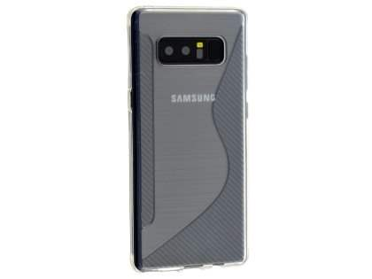 Wave Case for Samsung Galaxy Note8 - Clear Soft Cover