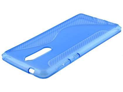 Wave Case for Nokia 8 - Blue Soft Cover