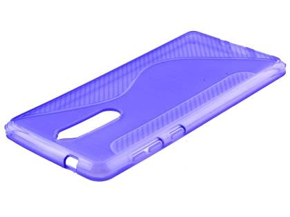 Wave Case for Nokia 8 - Purple Soft Cover