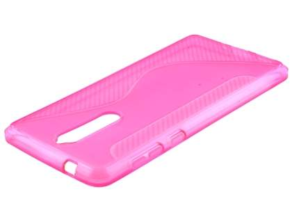 Wave Case for Nokia 8 - Pink Soft Cover