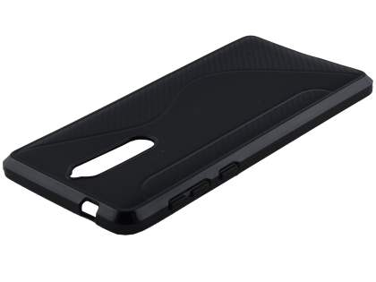 Wave Case for Nokia 8 - Black Soft Cover