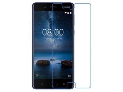 Flat Tempered Glass Screen Protector for Nokia 8 - Screen Protector