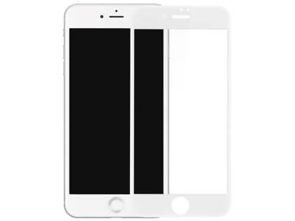 3D Full Coverage Tempered Glass Screen Protector for Apple iPhone 8 Plus - White