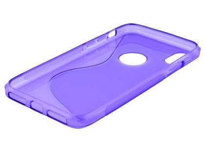 Wave Case for Apple iPhone Xs/X - Purple