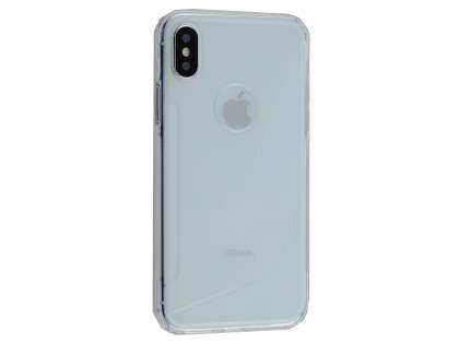 Wave Case for Apple iPhone X - Clear Soft Cover