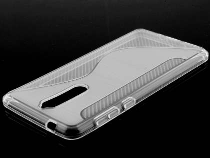 Wave Case for Nokia 8 - Clear Soft Cover