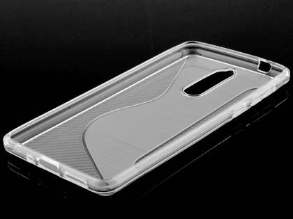 Wave Case for Nokia 8 - Clear