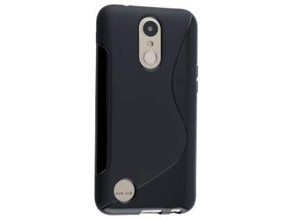 Wave Case for LG K10 (2017) - Black Soft Cover