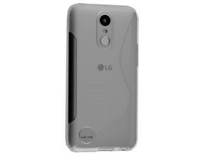 Wave Case for LG K10 (2017) - Clear Soft Cover