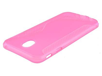 Wave Case for Samsung Galaxy J7 Pro - Pink Soft Cover