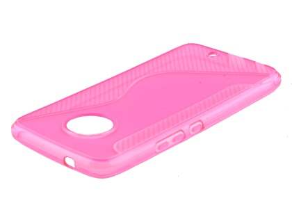 Wave Case for Motorola Moto X4 - Pink Soft Cover