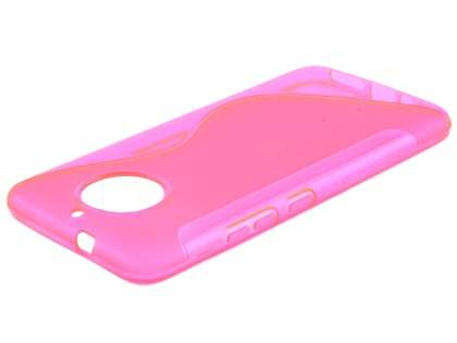 Wave Case for Motorola Moto G5S - Pink Soft Cover