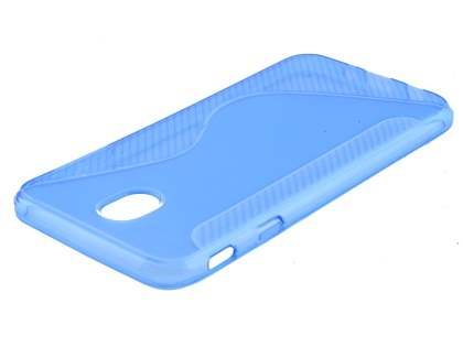 Wave Case for Samsung Galaxy J7 (2017) - Blue Soft Cover