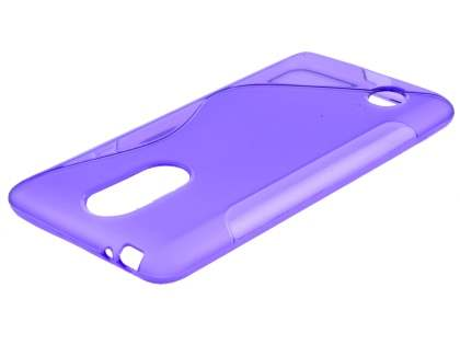 Wave Case for LG K8 (2017) - Purple Soft Cover