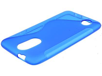 Wave Case for LG K4 (2017) - Blue Soft Cover