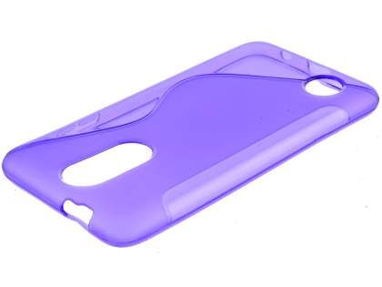 Wave Case for LG K4 (2017) - Purple Soft Cover