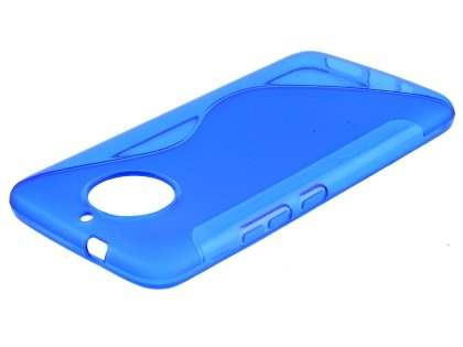 Wave Case for Motorola Moto G5S - Blue Soft Cover