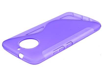 Wave Case for Motorola Moto G5S - Purple Soft Cover