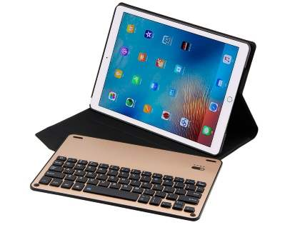 Smart Bluetooth Keyboard Case for iPad Pro 10.5 - Beige/Black Keyboard