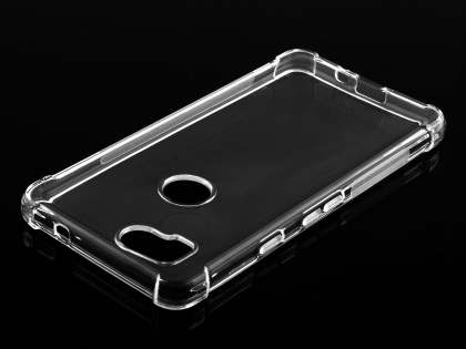 Gel Case with Bumper Edges for Google Pixel 2 - Clear Soft Cover